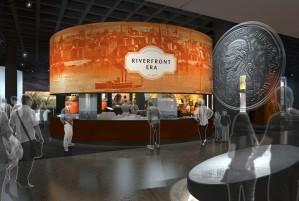 Museum concept interior