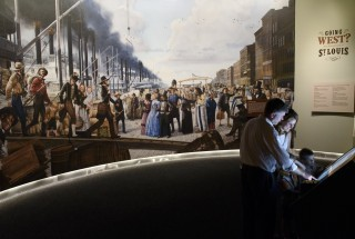 1852 Levee Mural