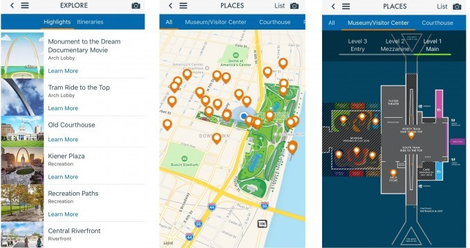 Gateway Arch Park App