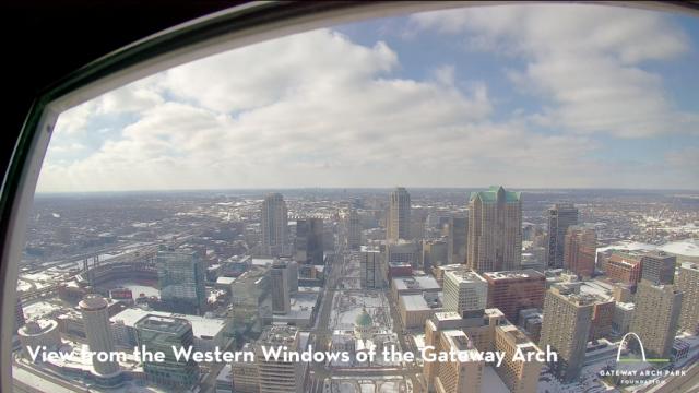 Gateway Arch West Camera View