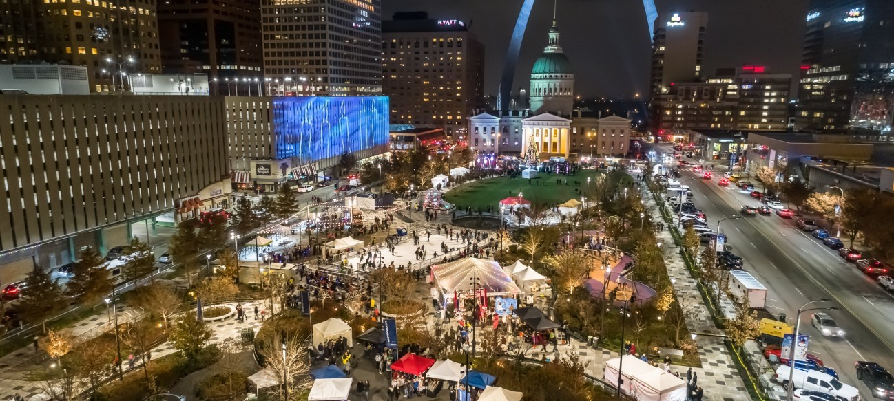 Since 2016, Winterfest has invited St. Louisans and visitors alike to experience the joy of skating in the shadow of the Gateway Arch