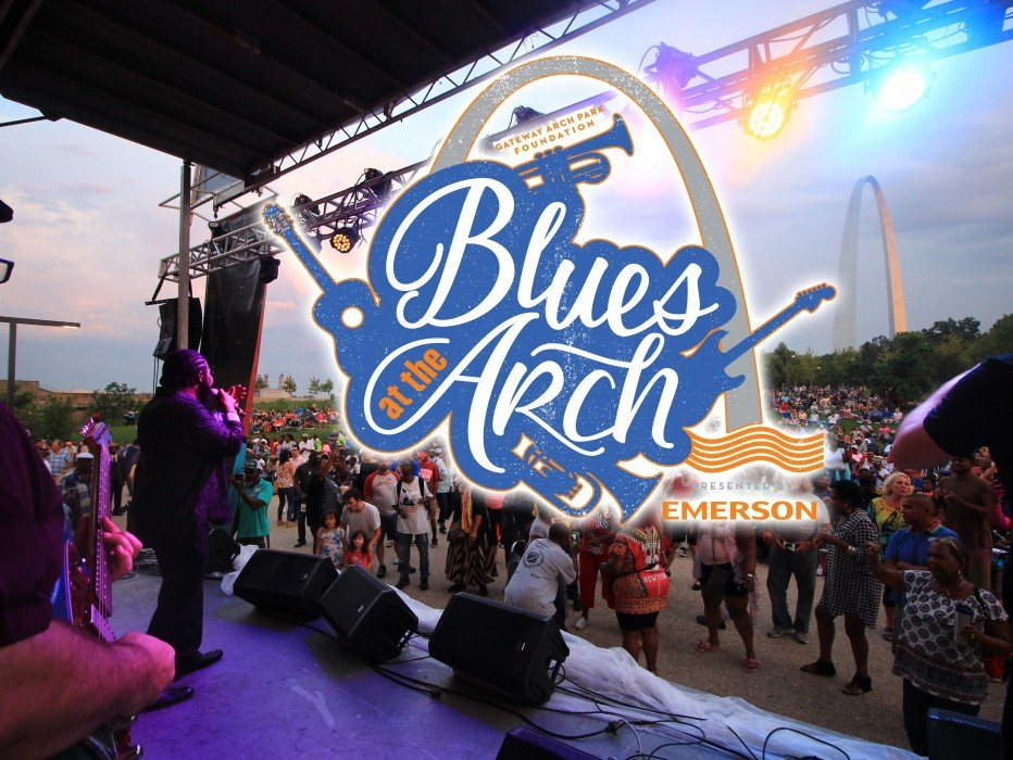 Blues at the Arch logo