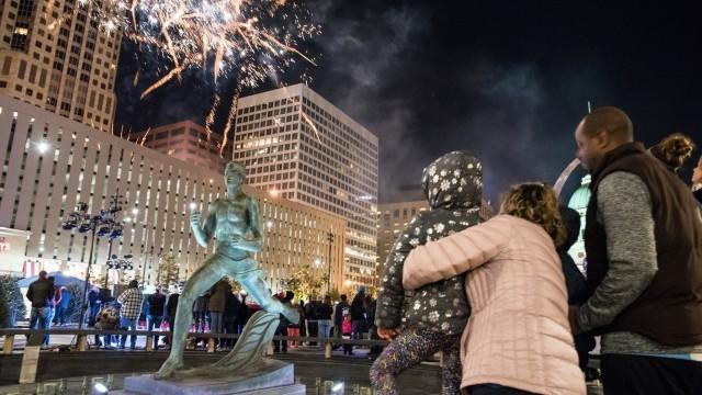Fireworks at Winterfest
