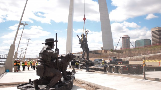 Captains Return Statue