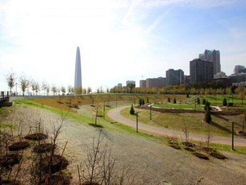 The North Gateway features 7.5 acres of new park space for visitors to enjoy.