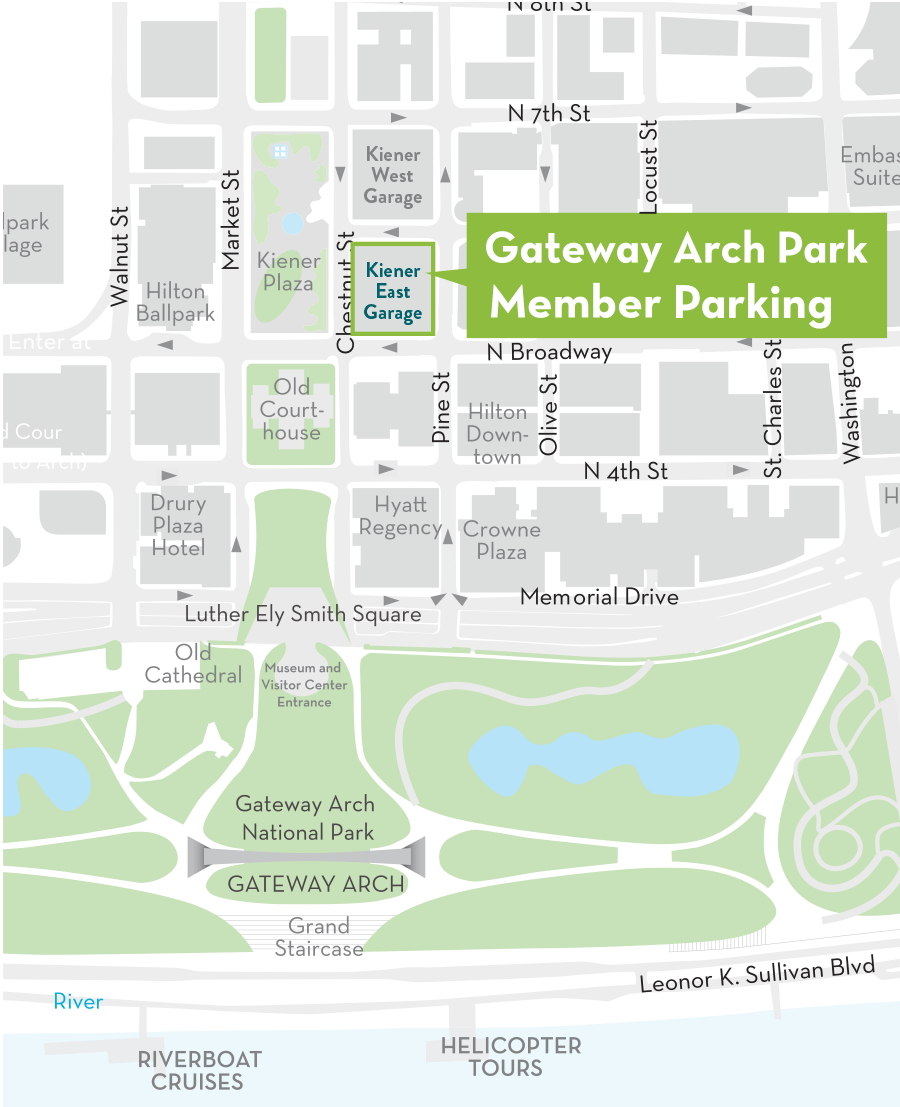 Interpark parking map
